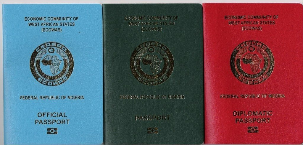 Types of Nigerian International Passports