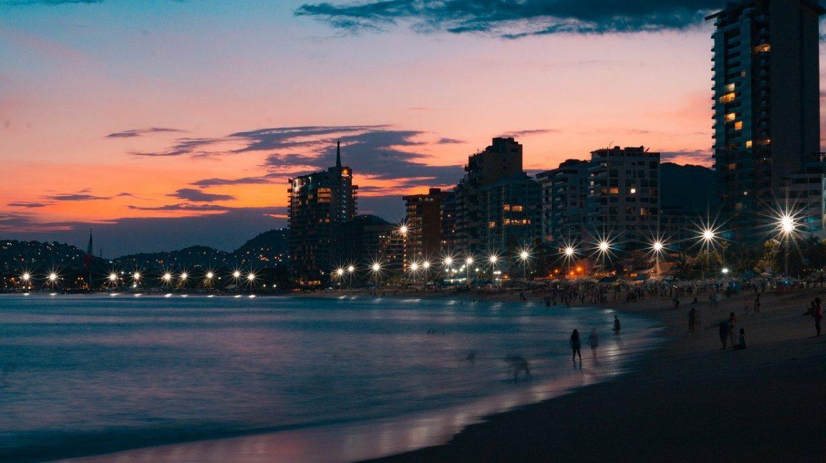 Acapulco de Juárez in Mexico.